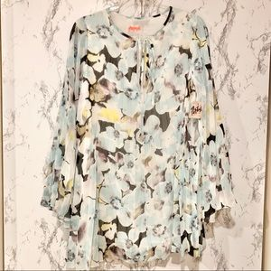 Free people Party flowy floral dress NWT Size XS